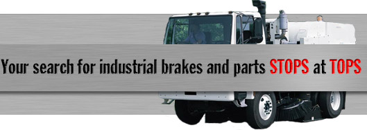 Your search for industrial brakes and parts stops at TOPS